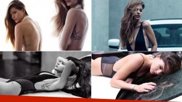 La China Suárez, fotos súper sensuales y sugerente topless (Foto: revista SML)