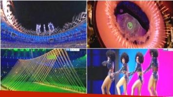 Así fue la gran ceremonia inaugural de los Juegos Olímpicos de Río 2016 (Fotos: Captura)