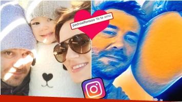 El tierno mensaje de Pedro a su bebé en camino (Fotos: Instagram)