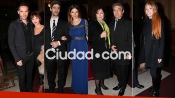 Noche de música y parejas top en la Gala Azul del Teatro Colón (Foto: Movilpress)