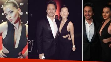 La China Suárez y Benjamín Vicuña, enamorados en la alfombra roja (Foto: Instagram)