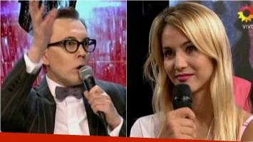 Marcelo Polino se cruzó con Flor Vigna en ShowMatch