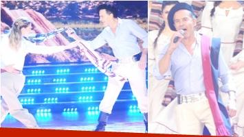 Osvaldo Laport la rompió en ShowMatch y cantó un tema (Fotos: Prensa Ideas del Sur)