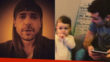 El divertido video de Pedro Alfonso y Olivia en Instagram (Foto: Instagram)
