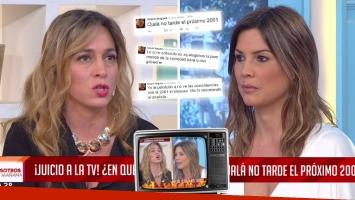Catarata de fuertes tweets de Ursula Vargues y picante cruce en vivo con Sandra Borghi