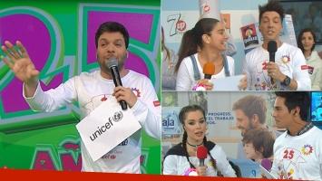 Así comenzó Un sol para los chicos: día de juegos y solidaridad de la mano de los famosos