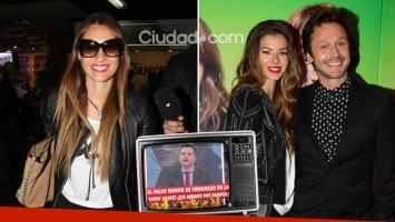 Pampita habría lanzado el rumor de embarazo de China Suárez ¡y la actriz redobló la apuesta!
