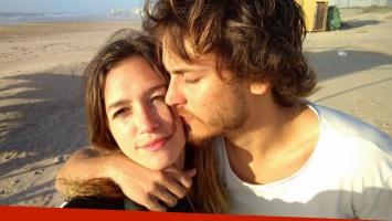Candela Vetrano, de novia con Andrés Gil (Foto: Instagram)