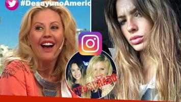 Barbie Simons reveló que la China Suárez la bloqueó de Instagram