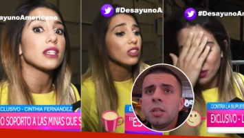 La furia de Cinthia Fernández tras las reiteradas consultas de infidelidad de Defederico (Foto: web)