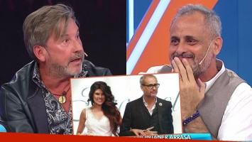Montaner sorprendió a Rial al confesar que iba a cantar en su casamiento con Loly (Foto: Web)