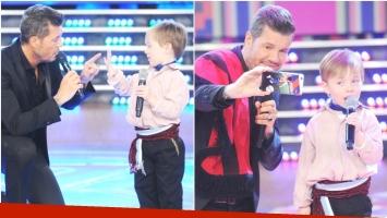Conocé a Mateo, el nene de 5 años que enterneció con su canto en ShowMatch (Fotos: Prensa Ideas del Sur)