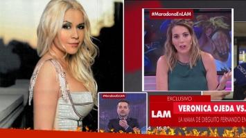 El durísimo exabrupto en vivo de Veronica Ojeda con una panelista
