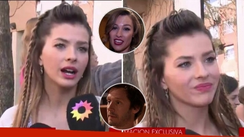 La China Suárez negó haber expresado deseos de volver a ser madre con Benjamín Vicuña: