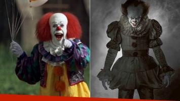 Revelaron la imagen de It, el payaso asesino (Foto: Web y a Entertainment Weekly)