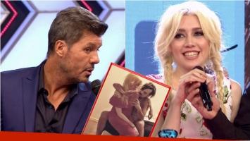 Militta Bora habló en ShowMatch acerca de si Chano estaba desnudo en su selfie súper hot