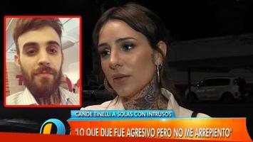 Cande Tinelli, tras su fuerte descargo en las redes sociales contra su exnovio (Foto: Web e Instagram)