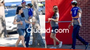 Las primeras fotos de la pancita de Mila Kunis, embarazada por segunda vez de Kutcher (Foto: Grosby Group)