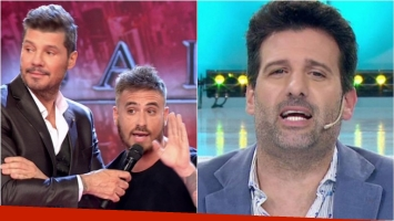 Fede Bal le contestó en ShowMatch a Listorti. Foto: Captura
