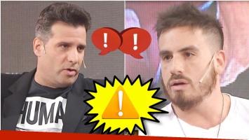 El cara a cara de Federico Bal y José María Listorti en Este es el Show (Fotos: Captura)