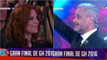 Jorge Rial y Agustina Kämpfer, cara a cara en la final de Gran Hermano 2016
