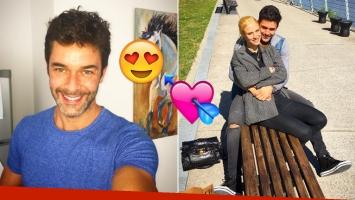 Mariano Martínez confirmó su relación con una joven modelo (Foto: Instagram)
