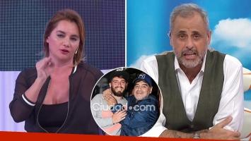Nancy Pazos, durísima con Jorge Rial: