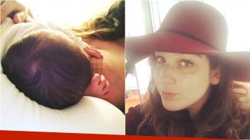 La tierna foto de Juana Repetto amamantando a su hijo Toribio (Fotos: Instagram)