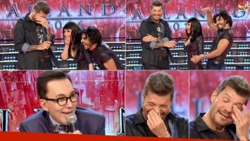 La desopilante charla de Tinelli con la abogada hot y el divertido guiño de Polino (Foto: Web)