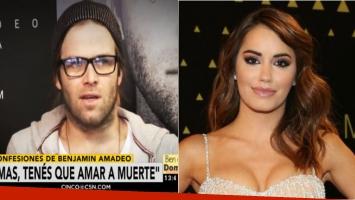 Benjamín Amadeo habló sobre cómo quedó su relación con Lali Espósito. Foto: Web