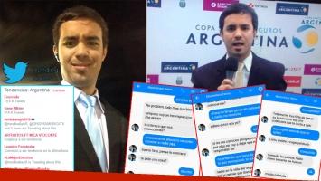 Maximiliano Fourcade, el periodista deportivo que fue TT por supuestos chats incisivos con mujeres, habló con Ciudad.com.