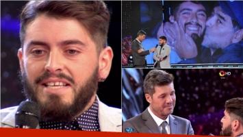 El emotivo relato de Diego Jr. en ShowMatch sobre el encuentro con Maradona