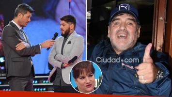 La reacción de Maradona al ver la emotiva entrevista que le hizo Tinelli a Junior