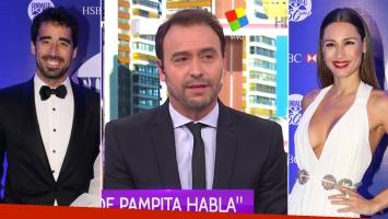 Adrián Pallares reveló la frase que le dijo Nacho Viale sobre Pampita