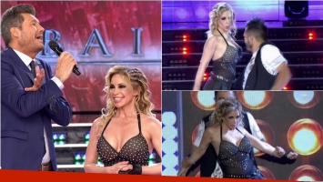 El escotazo de la abogada hot en el reggaetón de ShowMatch. Foto: Captura