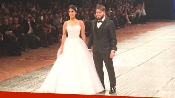 Diego Junior debutó en la pasarela en el cierre de Latinoamérica Fashion Week (Foto: Prensa)