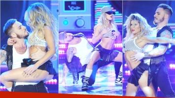 El tremendo regaettón de Fede Bal y Laurita Fernández en ShowMatch (Fotos: Prensa Ideas del Sur)