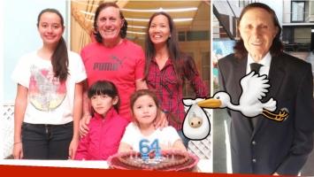 A los 64 años, Guillermo Vilas será padre por cuarta vez (Fotos: Twitter)