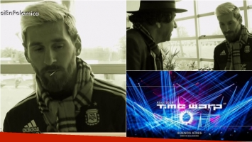 Lionel Messi habló en Polémica en el bar sobre cómo lo conmovió la tragedia de Time Warp. Foto: Captura