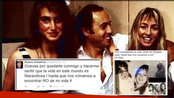 Los mensajes de Cris Morena y Gustavo Yankelevich para Romina Yan en Twitter.