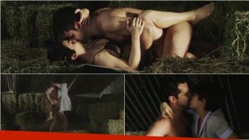 La escena de sexo de Agustina Cherri y Gonzalo Heredia en Los ricos no piden permiso. Foto: Captura