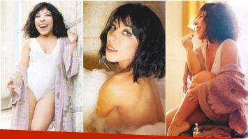 La producción hot de Noelia Pompa (Fotos: revista Gente)