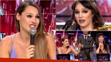 La picante devolución de Pampita a Ángela Torres en ShowMatch y su cruce con Moria