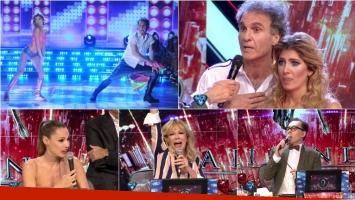 El reggaetón de Oscar y Candela Ruggeri en Bailando 2016. Foto: Captura