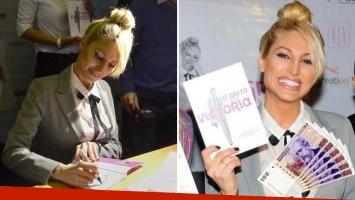 Vicky Xipolitakis presentó su autobiografía, que vale 900 pesos. (Foto: Web)