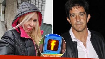 El antiguo chat súper hot entre Alejandra Pradón y Leonardo Squarzón