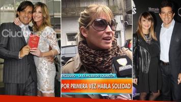 Habló Soledad Solaro, la ex de Squarzon, en medio del escándalo con Granata.