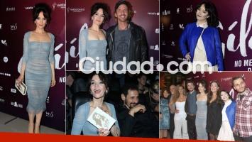 Natalia Oreiro, súper sexy en la avant premiere de la película de Gilda (Foto: Movilpress)
