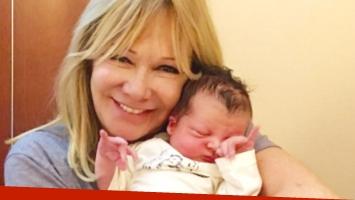 Soledad Silveyra presentó a su quinto nieto en Twitter (Foto: Twitter)