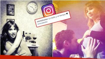 El mensaje de amor de Michel Noher a Celeste Cid en Instagram (Fotos: Instgram)
